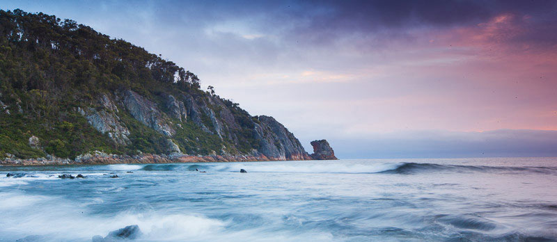 Sisters Beach Coastline by Tourism Tasmania and Andrew McIntosh, Ocean Photography