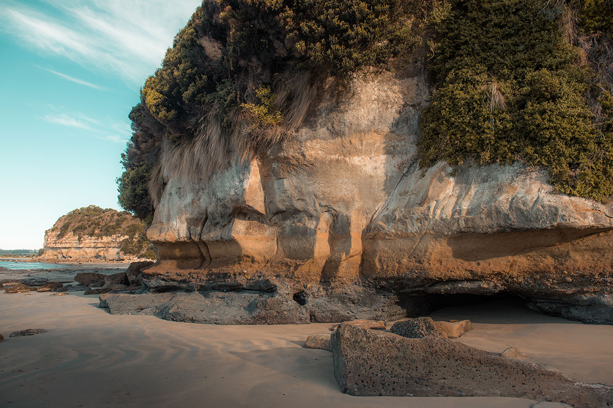 Fossil Bluff by Jess Bonde