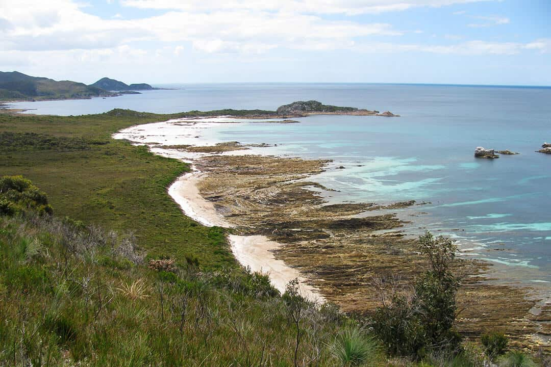 Anniversary Bay in Rocky Cape NP