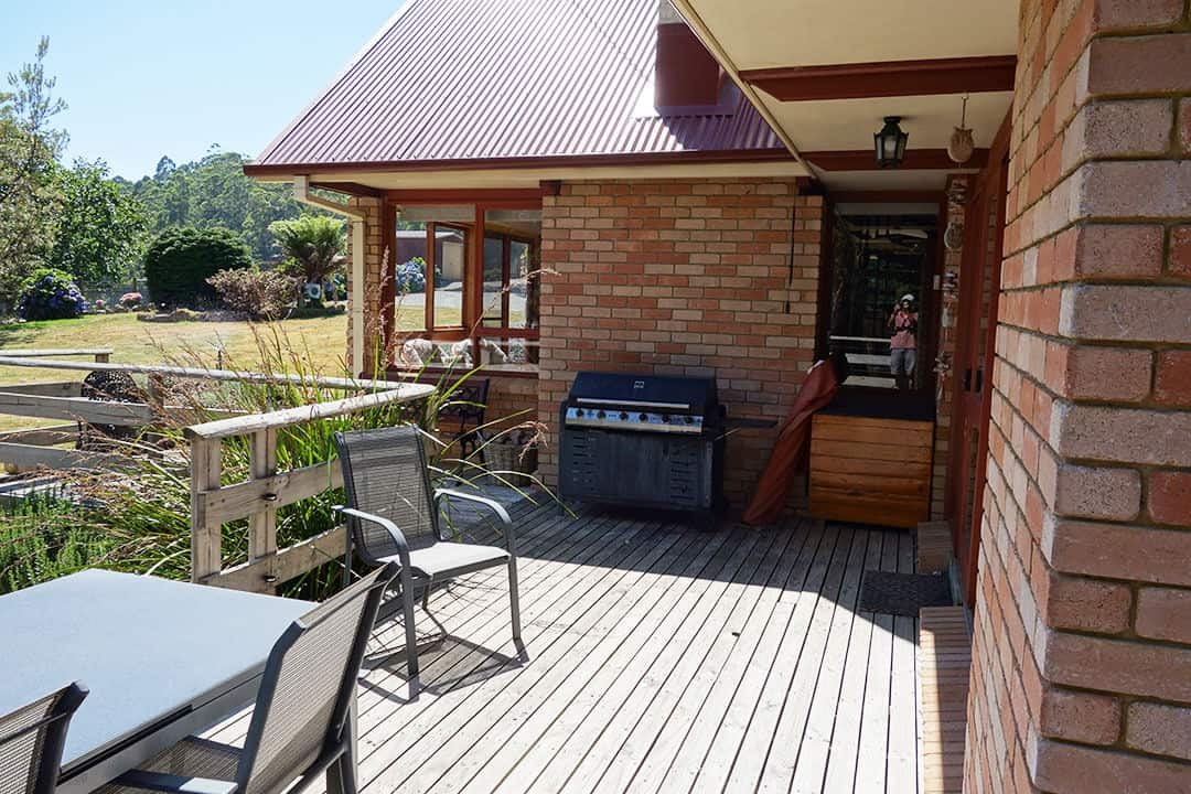 BBQ and Deck